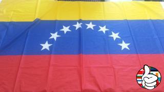 Bandeira do Venezuela 8 estrelas