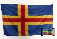 Bandera de Islas de Alandia (Aland)