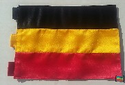 Bandera de Alemania sobremesa bordada