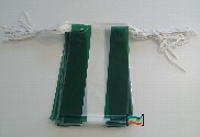 Banderines de plástico Andalucía 50m