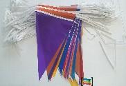 Banderines de colores 50m