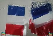Bandeirola de plástico França 50m