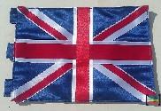 Bandera de Reino Unido sobremesa bordada